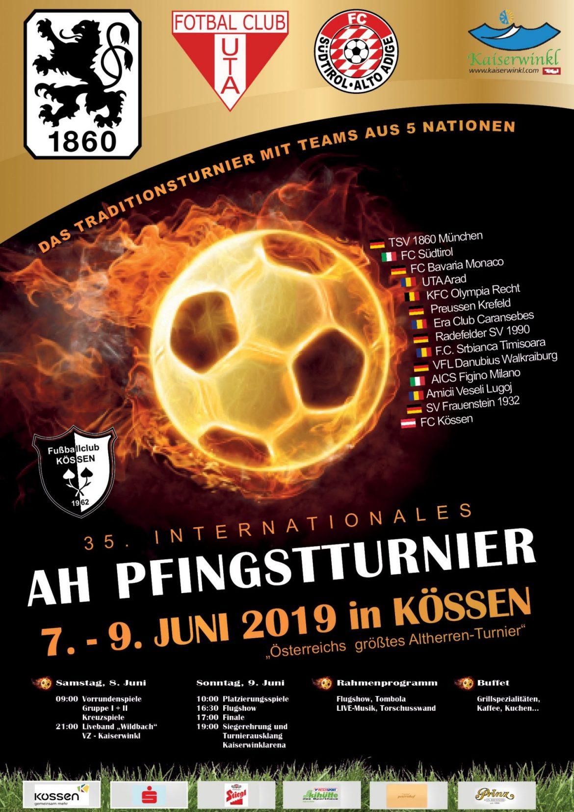 35. Int. AH-Pfingstturnier 2019