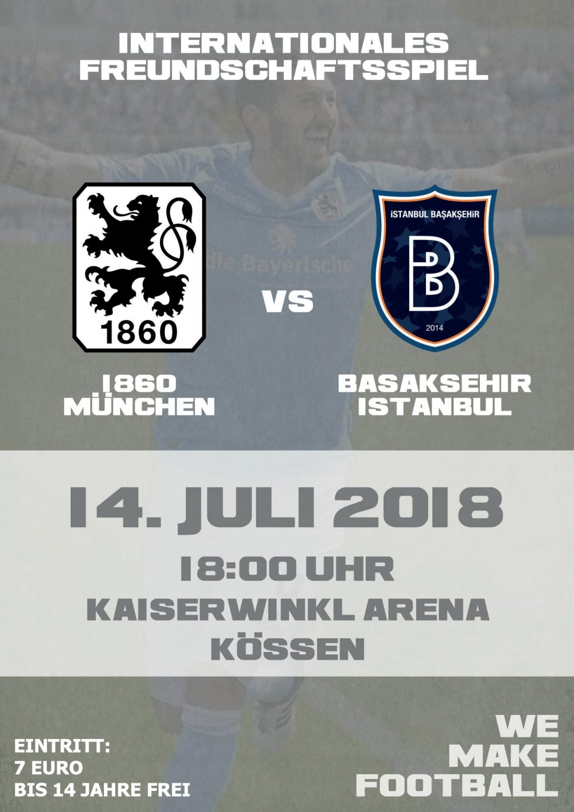 Int. Freundschaftsspiel TSV 1860 München : Basaksehir Istanbul